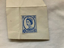 EARLY 4d BLUE STAMP