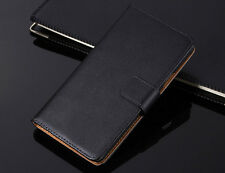 Genuine Leather Flip Wallet Case Cover Card Holder For iPhone X 8 7 6 6S Plus 5S
