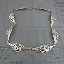 schönes altes Collier Silber 925/-  ca.70er Jahre signiert