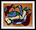 FISH AND LOONS OF LAKE NIPIGON NORVAL MORRISSEAU  LTD EDITION
