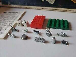 1974 Monopoly 40th Anniversary Edition No 11 Replacement & Add On Pieces & Parts