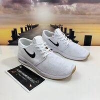 Nike SB Air Max Janoski 2 Skateboarding Shoes White Gum AQ7477-102 Men's Size 10