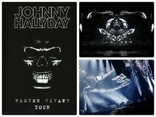 Johnny Hallyday : Rester vivant tour Concert Bruxelles Mars 2016 - DVD + LIVRET