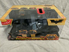 Batman Begins electronic Batmobile Tumbler dark knight mattel 1:18? MIB