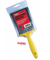 "ProDec 4"" Inch (100mm) Masonary Brush Painters Plasterer Paint Brush VAT Invoice"