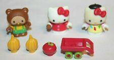 Mega Bloks Hello Kitty Mini Figure Lot with Accessories