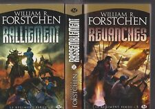 LE REGIMENT PERDU tomes 1 à 3 William R Frostchen Milady roman SERIE