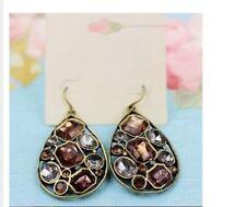 Synthetisch hergestellte Mode-Ohrschmuck mit Kristall-Hauptstein für Damen