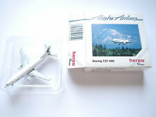 "Boeing B 737-400 ""ALASKA AIRLINES"" / N754AS, Herpa #501309 in 1:500 boxed"