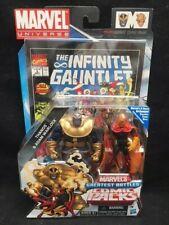 "MARVEL UNIVERSE 3.75"" Comic Pack THANOS & ADAM WARLOCK Avengers Endgame Infinity"