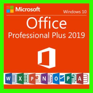 Microsoft®Office 2019 Professional Plus Vollversion✔️Key✔️Pro✔️32/64✔️ MS Retail