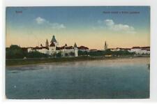 AK Arad, Maros reszlet a Kultur palotaval, Feldpost Reservistenspital 1917