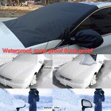 Universal Car SUV Windshield Snow Sun Cover Ice Frost Removal Mirror Protector
