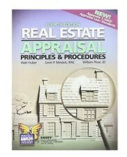 CALIFORNIA REAL ESTATE APPRAISAL 4th Edition By Walt Huber