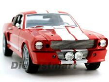 SHELBY COLLECTIBLES 1:18 1967 SHELBY GT500E ELEANOR RED DIECAST MODEL DC500E03