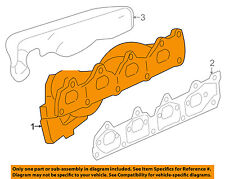 GM OEM-Exhaust Manifold 12620983