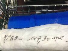 White Parachute Silk Weight Fabric (Brand New French Military Surplus)