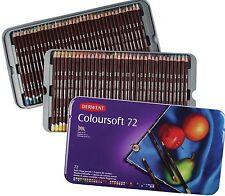Derwent Coloursoft Colouring Pencils Tin Set of 72