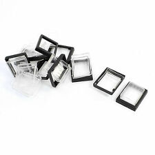 10Pcs Black Frame Clear Silicone Waterproof Cap for KCD2 Rocker Switch