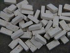 50 1:12th scale gault real brique miniature briques pour maisons de poupées/modèles