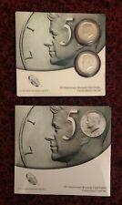 2014 50th Anniversary Kennedy Half Dollar Uncirculated 2 Coin P D US Mint Set