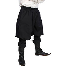 Medieval Pants, Black Larp, Pirate, Renaissance, Steampunk, Cosplay