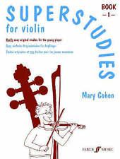 (Good)-Superstudies Violin Book 1 (Solo Violin): Bk. 1 (Faber Edition: Superstud