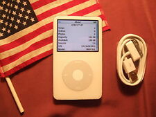 iPod Video WHITE 5th 5.5th Gen 256GB 20000 tracks MADE IN USA >240GB/160GB/120GB