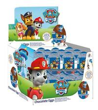 10 Eggs - PAW Patrol Chocolate Surprise Eggs with Prize Inside