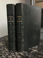 Théâtre de SCHILLER trad. Marmier 2/2 vol. Charpentier 1848