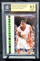2003 Upper Deck Top Prospects Lakers LEBRON JAMES Rookie Card BGS PSA GEM MINT
