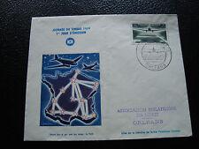 FRANCE - enveloppe 1er jour 21/3/1959 (journee timbre) (cy53) french (pliure)