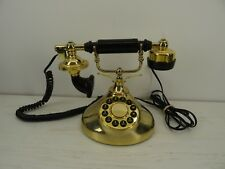 Retro Vintage Antique Classic Brass Style Home Desk Telephone Phone