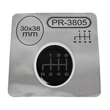 1x Schalthebel Silikon Aufkleber für Schaltknauf 3D Sticker | 30x38mm | PR-3805