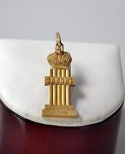 Russland  Anhänger 84 Silber / Gold Zar Alexander «Respice finem»