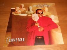 Stevie Wonder Characters 2-Sided Flat Square Poster 12x12 RARE