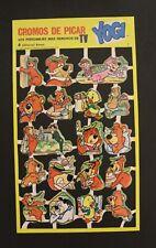 1985 Hanna-Barbera YOGI BEAR PALM CARDS Spanish Vintage EXTREMELY HTF #7