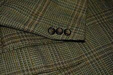 $4150 Brioni Cashmere Wool Olive Green Sportcoat Blazer 42S 42 S