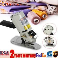 90mm Electric Cloth Cutter Fabric Leather Rotary Blade Cutting Scissors Machine