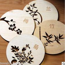 Random Cork Wood Drink Coaster Tea Coffee Cup Pads Sinicism Tableware Mat