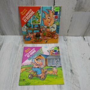 Mercer Mayer LITTLE MONSTER Little Monster At Home School Paperback 1978