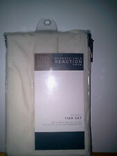KENNETH COLE REACTION MINERAL COLLECTION~IVORY~2 TIER LINEN BLEND~NEW