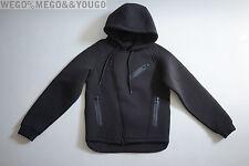ALEXANDER WANG For H&M HM Scuba Moto Biker Hoodie Mens Jacket size XSmall XS