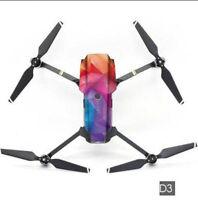PVC 3M Waterproof Stickers Decal Skin Protector for DJI Mavic Pro Drone Quad