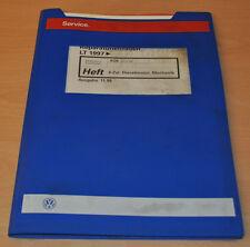 VW LT AGK ATA 1997 4 Zylinder Dieselmotor Mechanik  Werkstatthandbuch Leitfaden