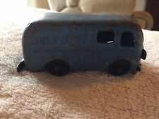 Vintage Rare Marx Pressed Steel Delivery Van Truck Flat Car Train Set 1930's