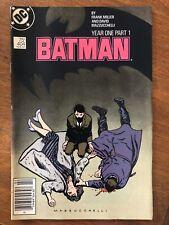 Batman Year One Part 1-2 DC Comics