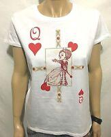 Alice Nel Paese Delle Meraviglie Ufficiale Donna T-shirt (XL) Nuovo Disney