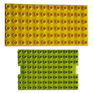 Lego Duplo Bauplatten 6x12 8x8 8x12 Platten
