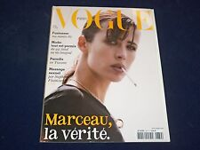 2008 AUGUST VOGUE PARIS MAGAZINE - SOPHIE MARCEAU - FRENCH FASHION - O 5448